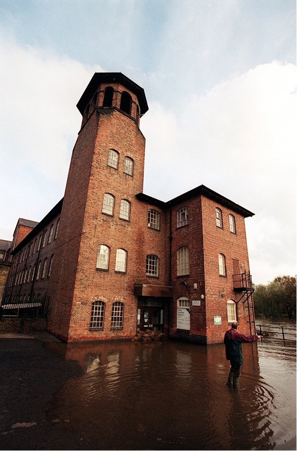 Silk Mill flooding