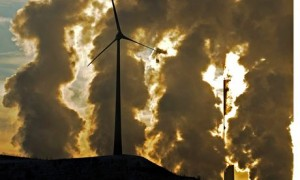 greenhouse gases wind turbines